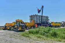 Iowa Transformer Bucket Truck Escort