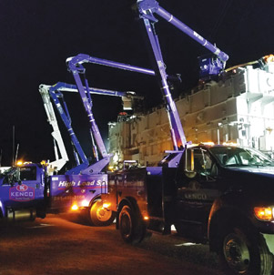 Bucket Truck Transport Support Services