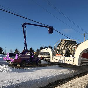 Utility Truck Escort