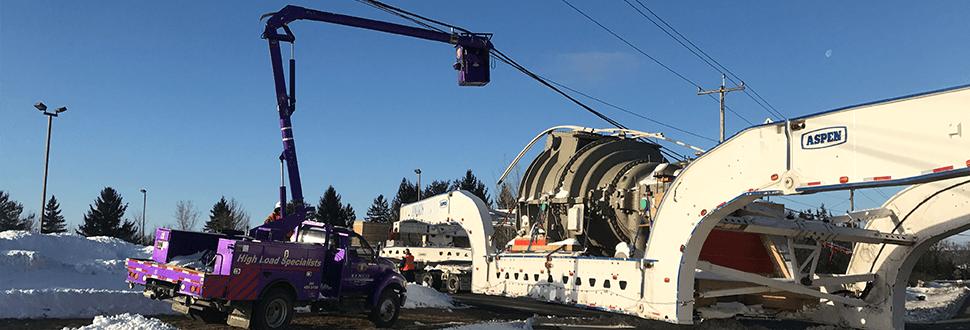 Kenco Utility Truck 200 Ton Turbines Slideshow 01