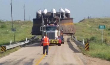 Kenco Cross-Country Bucket Truck Superload