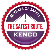 20 years of safety. The Safest Route. Kenco